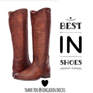 FRYE • Melissa Button 2 Riding Motorcycle Boots